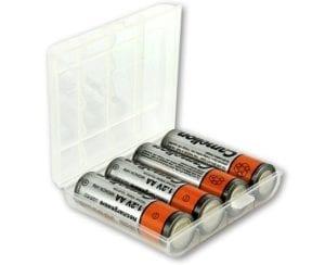 Boitier de rangement pour accus ou piles