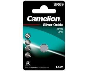 piles bouton oxyde d'argent camelion SR69