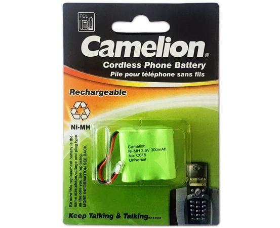 camelion c015 300mAh 3.6v pile télépnone