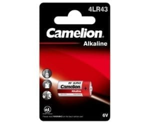 Pile 4LR43 6V alcaline photo Camelion