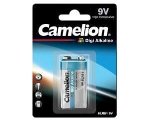 pile Camelion Digi-alcaline 9V block 6LF22