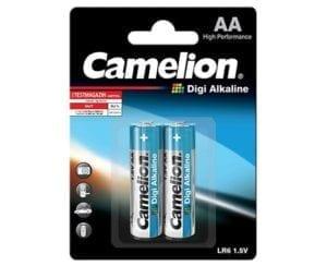 Piles digi alcaline Camelion AA LR06