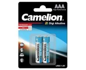 Piles AAA LR3 Digi-alcaline Camelion