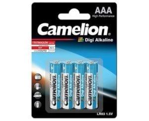 Pile LR03 AAA Digi alcaline Camelion